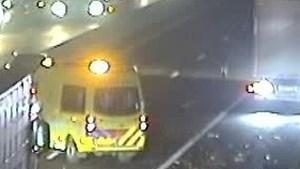 Ongeluk in file door ongeluk op A67 bij Venlo