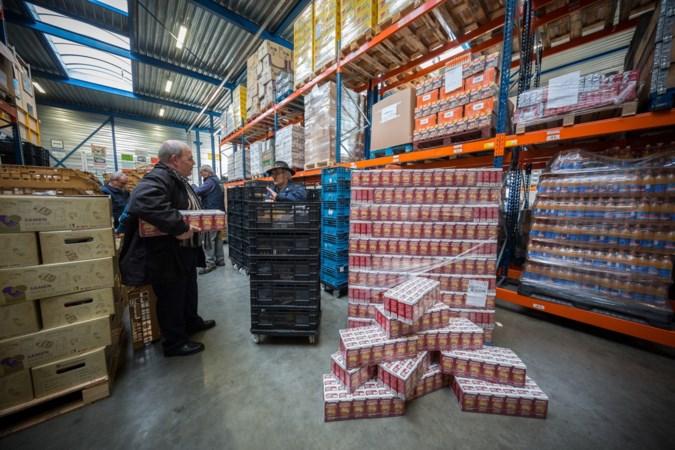Voedselbank wil gesprek met supers over andere inzamelaars