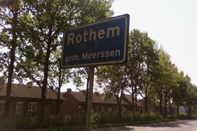 Diverse wegen in Rothem hele dag afgesloten
