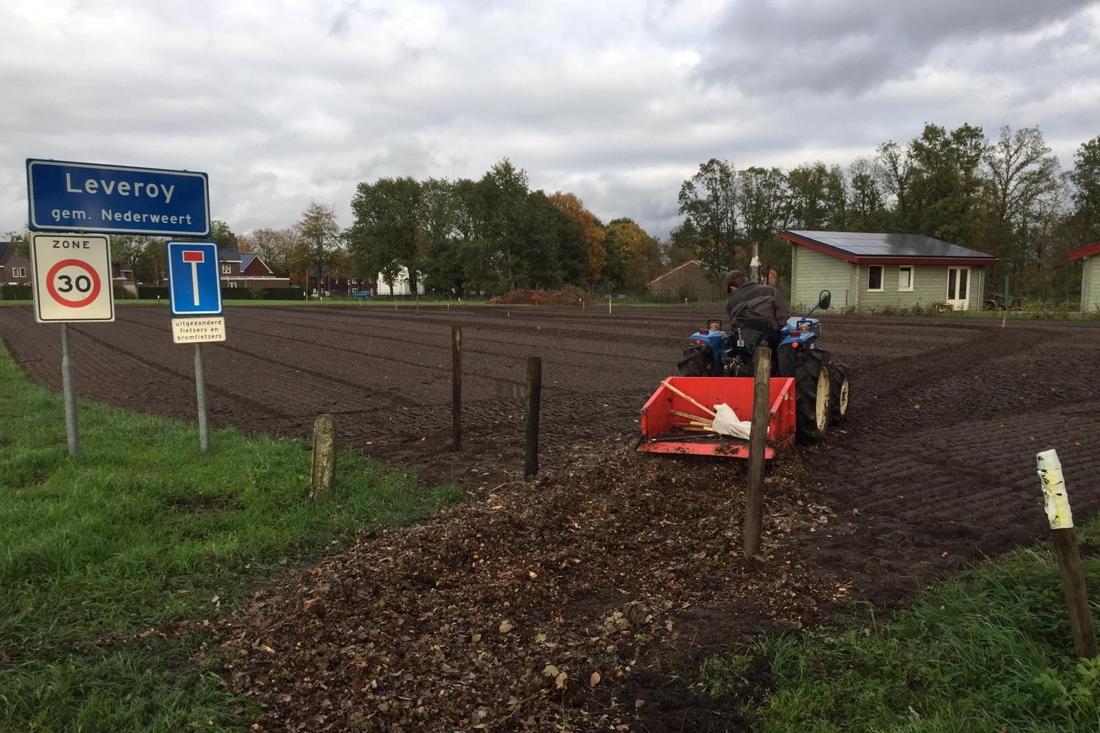 Leveroy krijgt een flink voedselbos bij de kern van het dorp - De Limburger