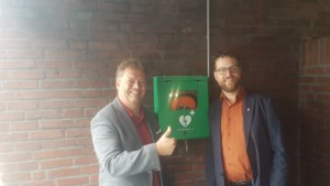 AED geplaatst bij Stichting Gemeenschapshuis in Kepèl