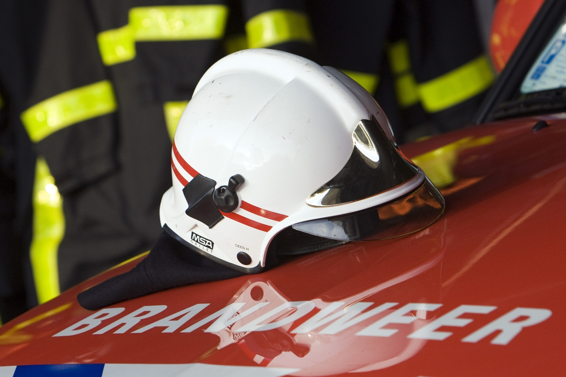 Brand in Sevenum: schuur met stro in lichterlaaie - De Limburger