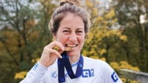 Elleke Claessen na EK-titel: 'Voor de start met zes rensters dacht ik, waar slaat dit op? Nu vind ik het toch bijzonder'