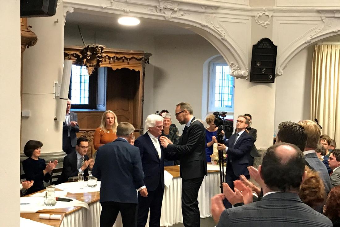 Reg van Loo benoemd tot ereburger van Vaals - De Limburger