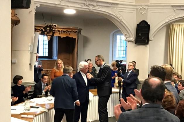 Reg van Loo benoemd tot ereburger van Vaals