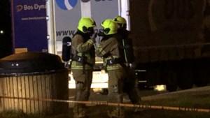 Ladingdieven morsen gevaarlijke stoffen op parking A73 Roermond