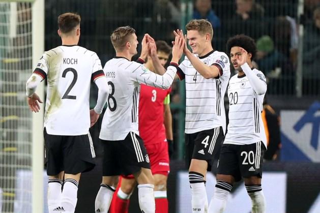Ook Duitsland na zege op Wit-Russen naar EK