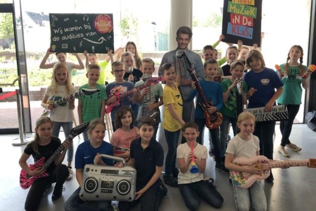 Basisschool Harlekijn naar halve finale 'Lang leve de Muziekshow'