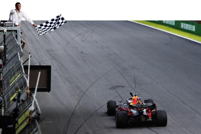 Meesterstuk van Max Verstappen in Sao Paulo
