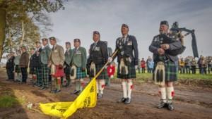Schotten vieren bevrijding in Meijel