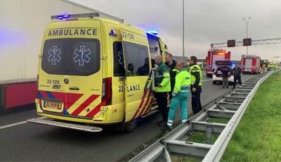 Vrouw (62) overleden bij ongeval op A2, aangehouden vrachtwagenchauffeur werd mogelijk onwel