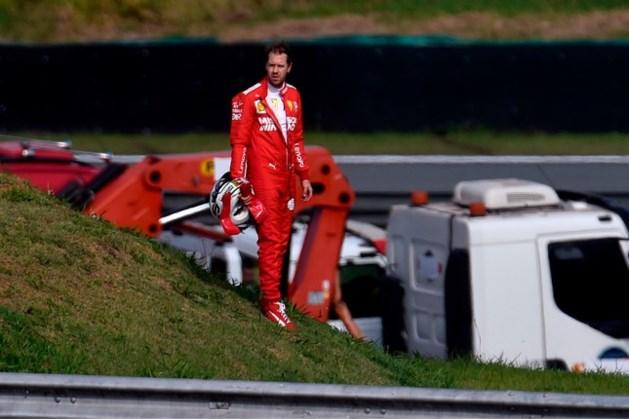 Ferrari-coureurs hebben spijt van crash