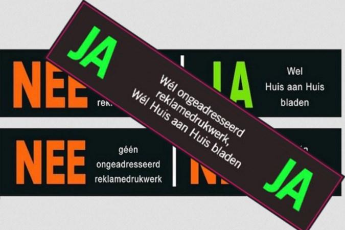 Ook in Beekdaelen voorstel om met de jaja-sticker verspreiden van reclamefolders terug te dringen