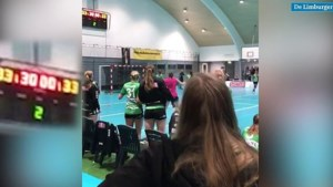 Video: bizarre ontknoping van handbaltopper