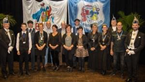 Interne opening VV De Boereraod van de Hei met huldiging jubilarissen