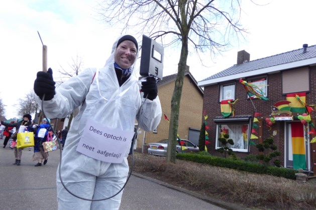 Carnavalsvereniging Pey past optochtroute aan