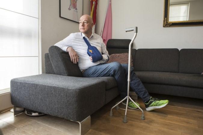 Door hersenbloeding getroffen Luc Volders: 'Ik dacht dat ze me kwamen vermoorden'