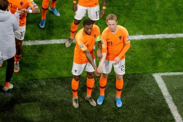 Oranje maakt prachtig statement tegen racisme bij openingsgoal Wijnaldum