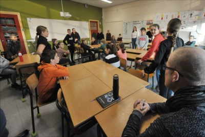 In Leunen kijken scholieren het beste uit voor de boze wolven in het grote internetbos