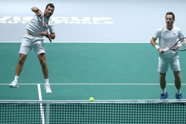 Oranje uitgeschakeld in Davis Cup na nederlaag tegen Britten
