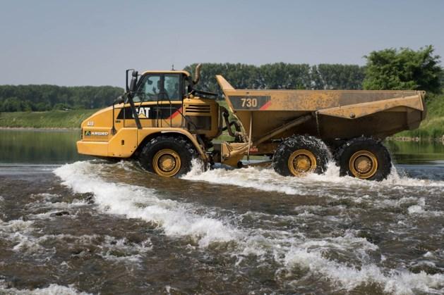 Bouw van hoogwaterbrug start bij Maasband