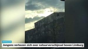 Video: bijzonder natuurverschijnsel boven Limburg