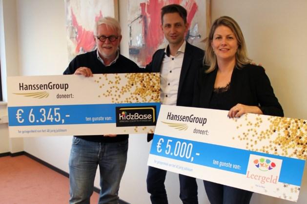 Bedrijf Panningen doneert aan lokale goede doelen