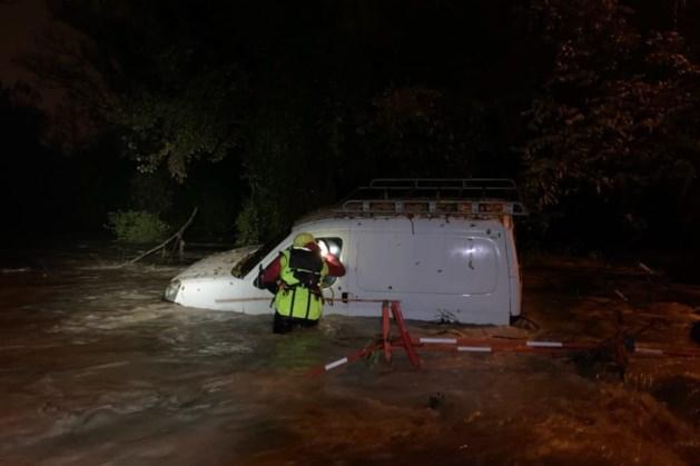 Twee doden bij hevig noodweer aan de Rivièra