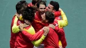 Nadal bezorgt Spanje Daviscup