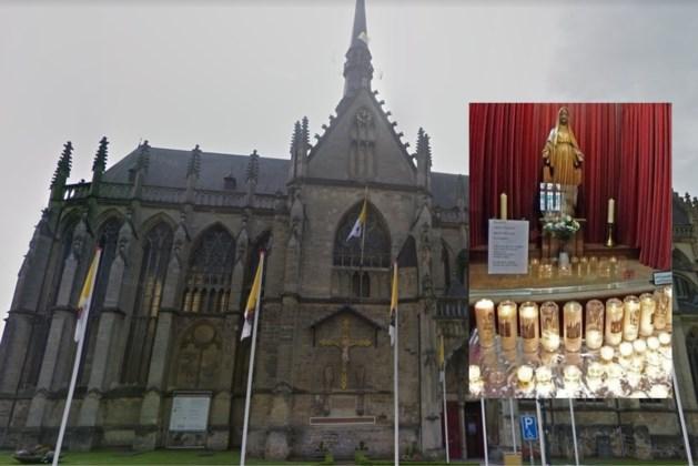 Kaarsendieven actief in basiliek van Meerssen: 'Het mocht van onze lieve heer'