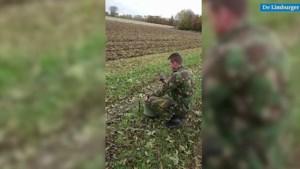 EOD brengt bij Sint Odiliënberg gevonden Amerikaanse granaten tot ontploffing