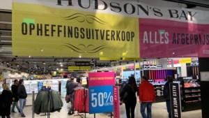 Warenhuisketen Hudson's Bay vraagt uitstel van betaling aan