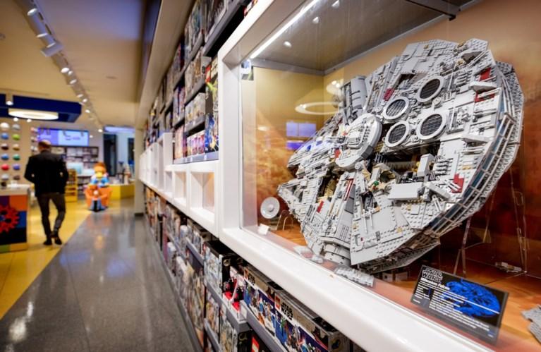 De Kalverstraat is voortaan het paradijs voor de Lego-adepten