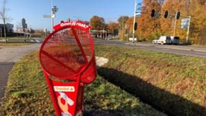 Gemeente Nederweert plaatst acht blikvangers op schoolroute