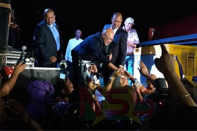 Bouterse na heldenonthaal: 'Het is een politiek spel'