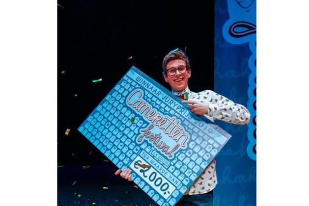 Maastrichtenaar Remy Evers (27) wint Camaretten Festival