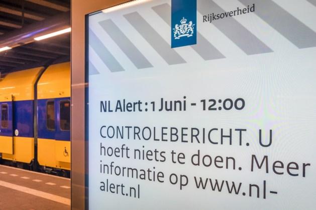 Miljoenen mensen krijgen testbericht NL-Alert