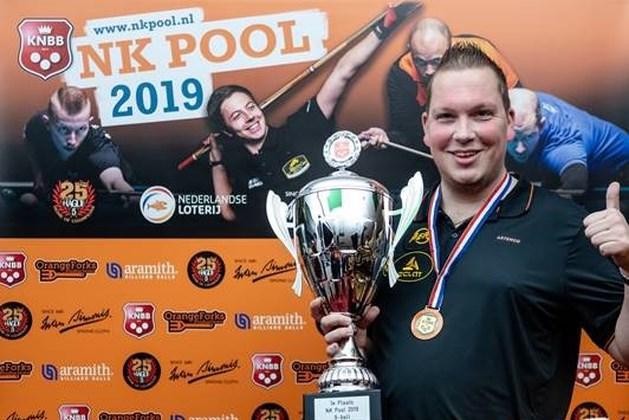 Ivo Aarts Nederlands kampioen 9-ball