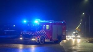 Brand in garageboxen Geleen vermoedelijk aangestoken