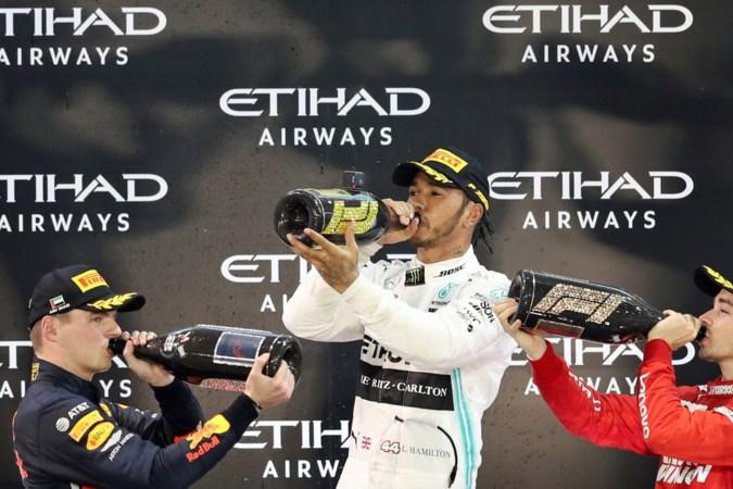 'Koning' Lewis Hamilton en zijn kroonprinsen Verstappen en Leclerc