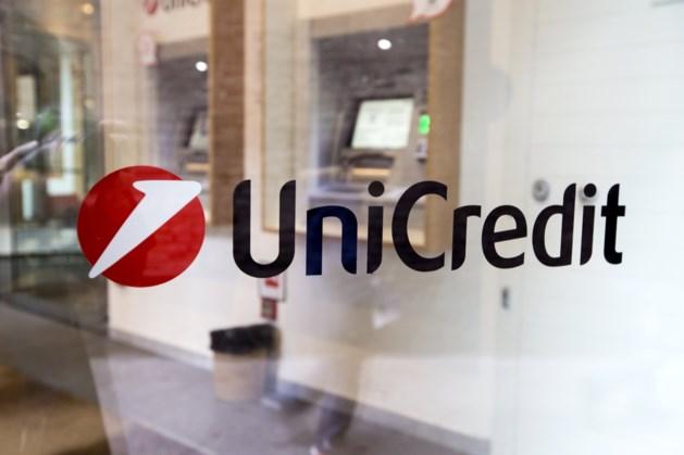 Italiaanse bank UniCredit schrapt 8000 banen