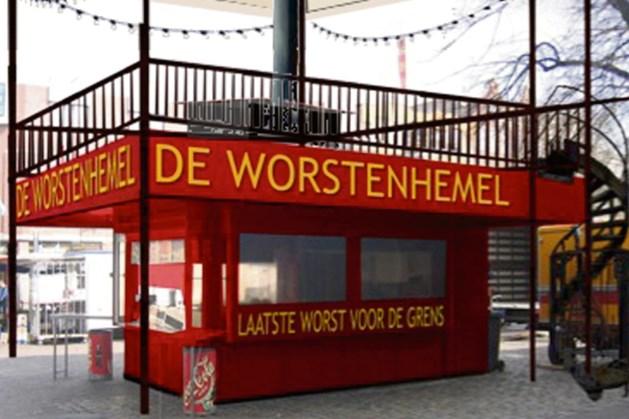 Openluchtpodium De Worstenhemel wordt op 20 mei feestelijk geopend in Heerlen