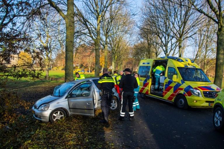 Video: Automobiliste rijdt met kinderen tegen boom: traumahelikopter geland
