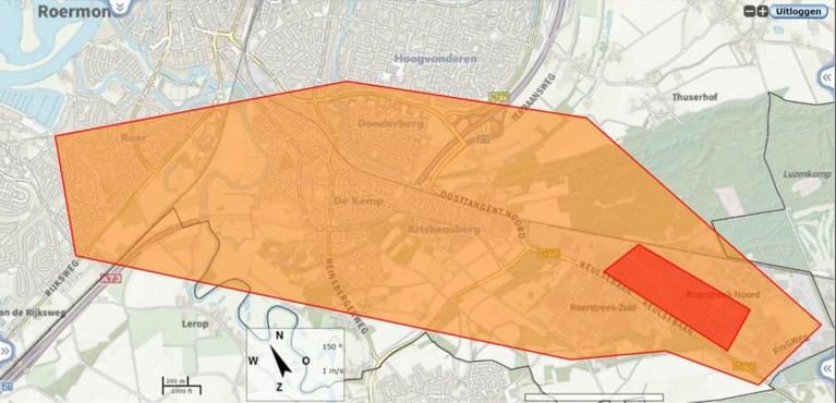 Video: Grote brand op bedrijventerrein Roermond onder controle
