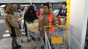 Video: Stormloop bij opening tweede Jumbo in Belgisch-Limburg
