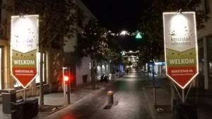 Vaandels markeren toegangswegen naar Kerststad Valkenburg