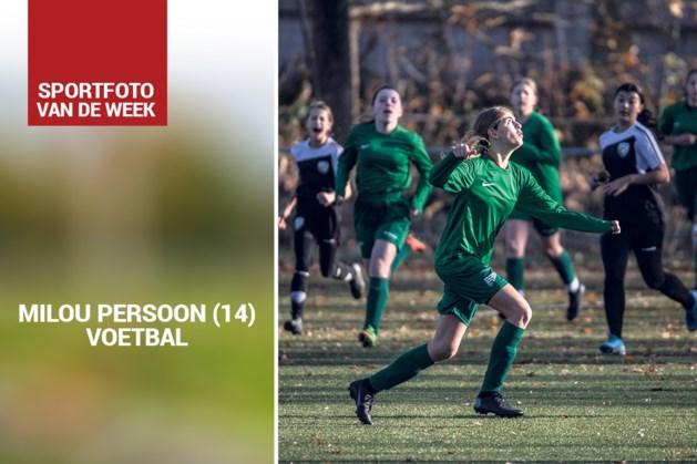 Sportfoto van de week: Milou Persoon (14) uit Meerssen