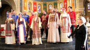 Russisch koor te gast in Schin op Geul