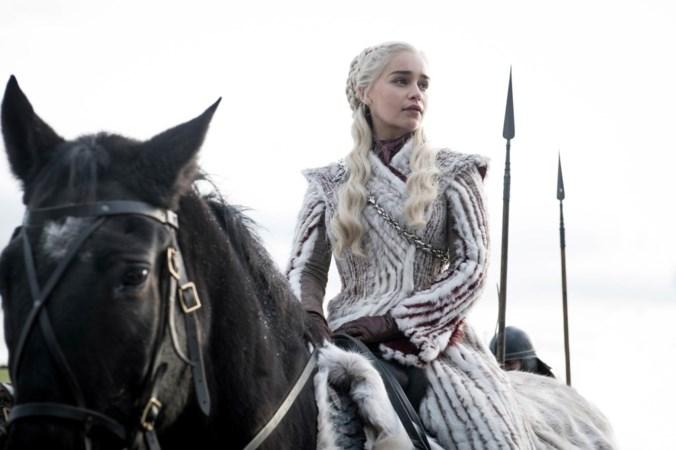 Drakenkoningin Emilia Clarke: 'Ik vond die rol in Last Christmas een hemels genoegen'