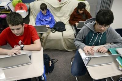 Hoe chromebook van Google via de klas een succes werd